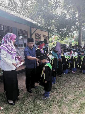 TK Kasih Ibu dan MDA Ar-Rahman Pisang Berebus Gelar Wisuda dan Perpisahan