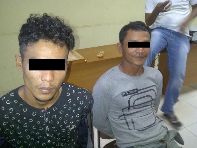 Berniat Beli Senpi dengan Upal, 2 Pemuda Dikerangkeng