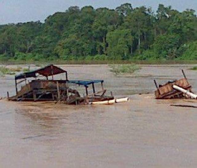 Akibat Banjir di Kuansing, 1.942 Ha Sawah Petani Terendam, Puluhan Dompeng Hanyut