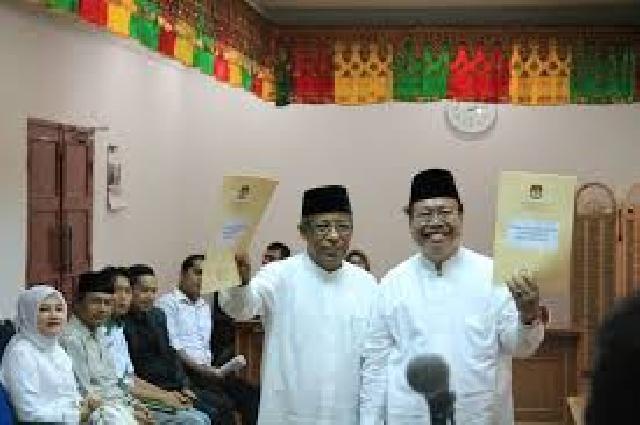 Inilah Hasil Penghitungan Suara WIN Oleh KPU Riau, Ternyata di Rokan Hilir Tanpa Pendukung