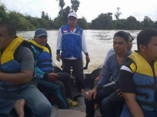 Pulang Dari Kebun, Nyeberang Sungai Bersama Ayah, Dayat Tenggelam di Sungai Tesso