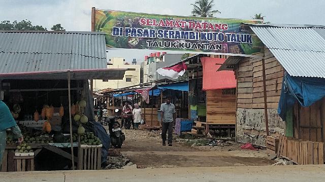 Hilang Pasar Lumpur, Muncul Pasar Serambi