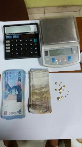 Penadah Emas Hasil PETI asal Padang Ditangkap