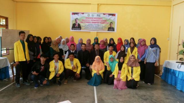 Lewat Seminar, BEM UNIKS Ubah Mindset Mahasiswa Dari Pencari Kerja Jadi Pembuat Loker