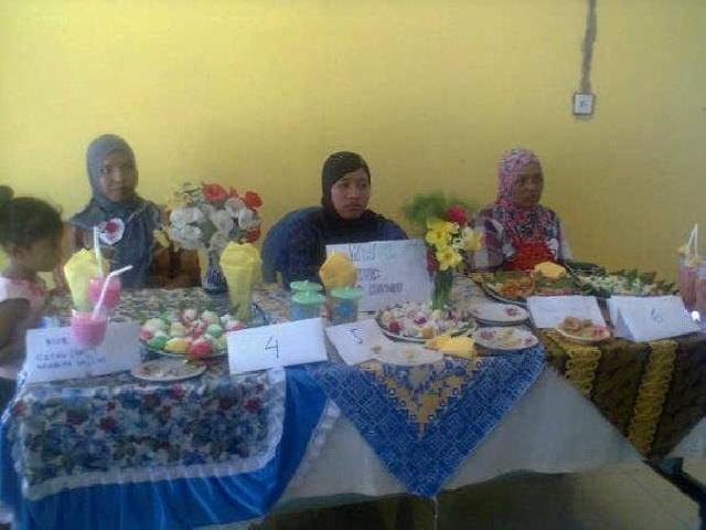 Meriahkan Hari Kartini, Desa Geringging Baru Taja Lomba Buat Kue Dari Ubi Kayu