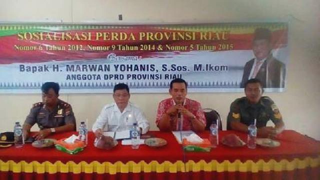Marwan Yohanis, Perusahaan di Kuansing Wajibkan Salurkan Program CSR Untuk Masyarakat