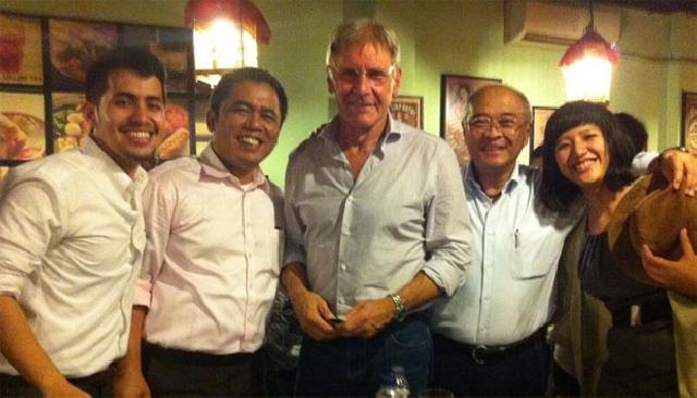 Harrison Ford Ungkap Kerusakan Tesso Nilo ke SBY