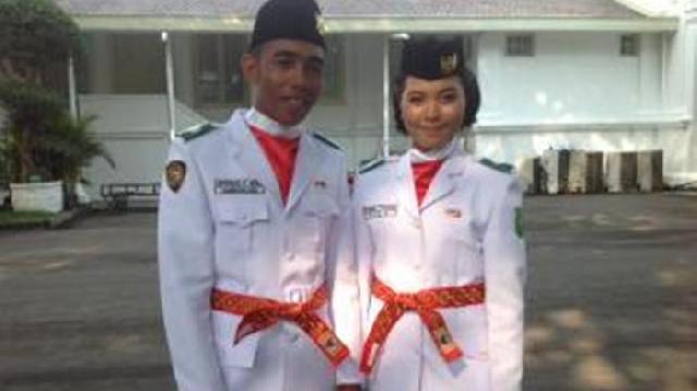 Kisah Nurul ,Anggota Paskibraka Nasional Asal Kuansing, Kangen Rumah Hingga Ingin Masuk Akpol