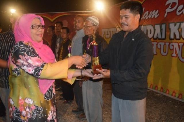 Group 'Sarinam'  Juara Satu Festival Randai se-Kuansing, SMAN Guntor Raih Juara Favorit