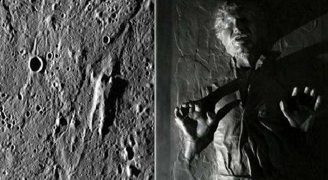 Heboh Sosok Manusia di Permukaan Merkurius