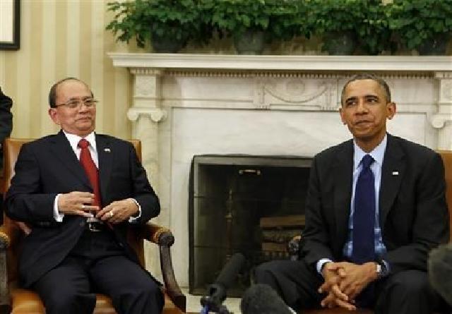 Kepada Presiden Myanmar, Obama Minta Kekerasan Terhadap Muslim Dihentikan