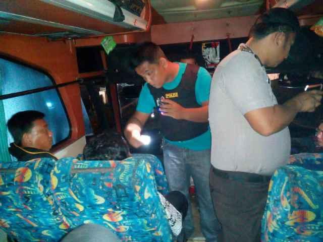 Cegat Pelarian Napi Sialang Bungkuk, Polisi Cegat Kenderaan di Jalan Teluk Kuantan-Pekanbar