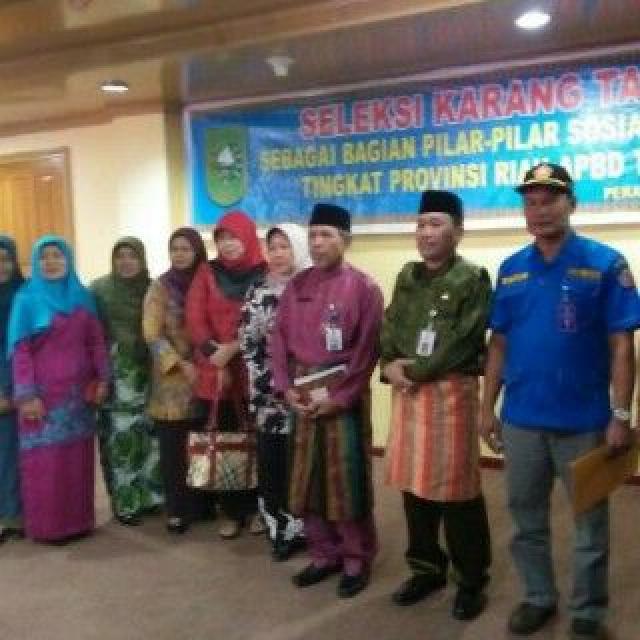 Karang Taruna Desa Tanjung Pauh Terbaik Tingkat Provinsi Riau 2015