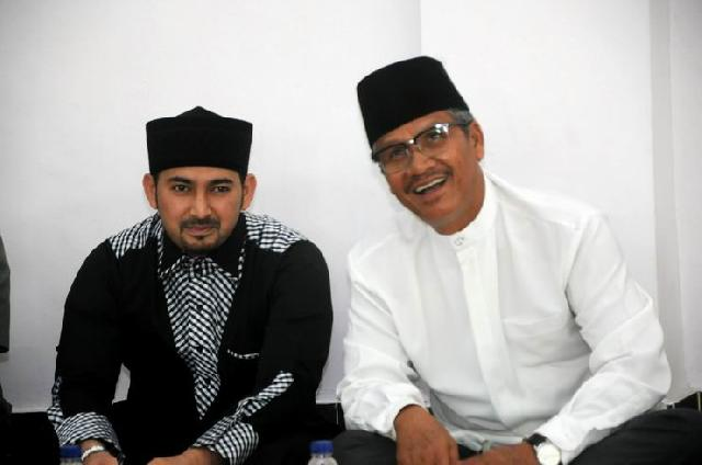 Isra' Mikraj, Ustad Ahmad Alhabsyi Beri Tausiyah Didepan Bupati dan Pegawai Pemkab Kuansing