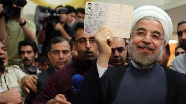 Perhitungan Pilpres Iran Capai 50%, Hassan Rohani Kokoh di Puncak