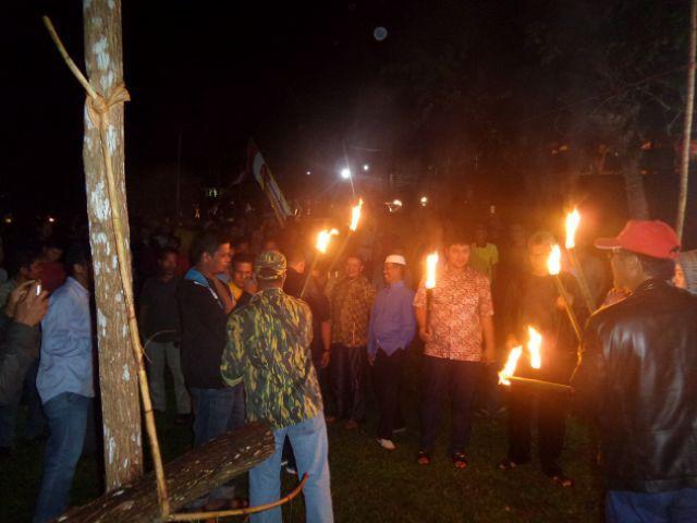 Walau Tak lagi Menjabat, Sukarmis Tetap Galang Dana Jalur, di Sampurago Terkumpul 50,9 Juta