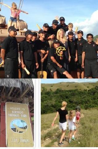 Liburan ke Pulau Komodo, Gwyneth Paltrow: Mimpi Saya Terwujud!