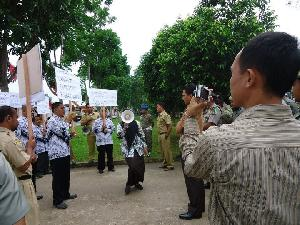 Polres Siap Amankan Aksi Lanjutan Eks Pejabat dan Guru