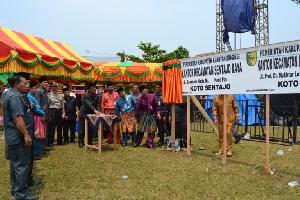 Peresmian 3 Kecamatan Berlangsung Semarak