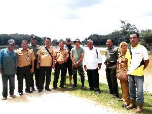 Kementrian Pertanian Utus Pejabat Tinjau Seribu Ha Lahan Sawah Petani Kuansing yang Terkena Fuso