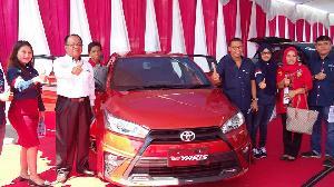 Digelar Toyota Expo 2016, Pameran Toyota Terbesar di Kuansing Yang Hadirkan New Yarris