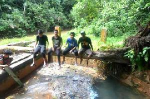 Kondisi Objek Wisata Air Panas Sungai Pinang Memprihatinkan