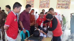 HUT ke-43, Para Perawat di Kuansing Taja Sunat Massal  Bagi Kalangan Tak Mampu
