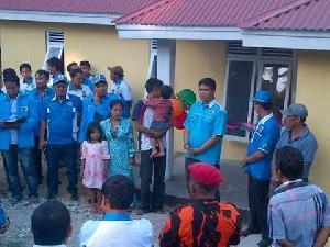 Yunasri Punya Rumah Layak Berkat Bedah Rumah KNPI Kuansing