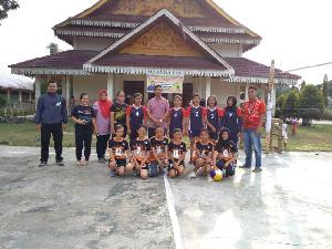 25 Club Berlaga di Turnamen Bola Voli Putri Marwan Yohanis Cup I