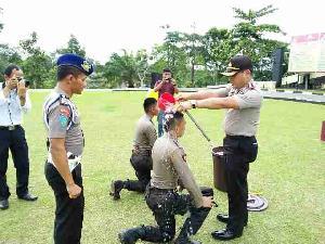 Sebelum Resmi Jadi Anggota Shabara, 10 Polisi Marathon dari Lubuk Jambi Hingga Teluk Kuantan