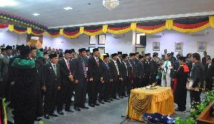 SK Defenitif Pimpinan DPRD Kuansing Hingga Kini Belum Turun