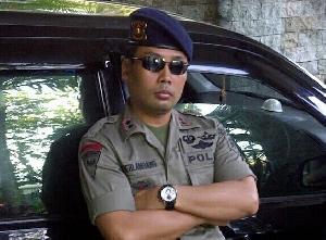 Personil Polres Kuansing Standby Back Up Pengamanan Pilkada  Kampar