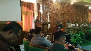 Ranperda RPJMD, Bupati Mursini Sampaikan Jawaban Pemerintah Terkait Pandangan Fraksi