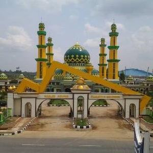 Usai Direhab, Mesjid Agung Tambah Keindahan Kota Teluk Kuantan