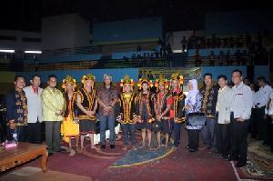 Indra Putra dan Komprensi Hadiri Pelantikan Himpunan Masyarakat Nias Indonesia  Kuansing