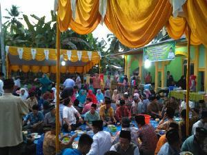 Bukber Pulang Basamo Sukses, Warga Tanjung Simandolak Apresiasi Perantau