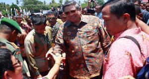 Lepas Peserta Mudik Gratis, SBY Ditodong Uang Saku