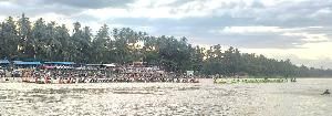 Pacu Rayon IV Milik Jalur Asal Kuantan Tengah, Duri Bingkuang Rawang Panjang Juara Pertama
