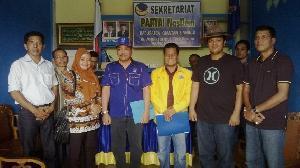 DPP Partai Nasdem akhirnya  Dukung Indra Putra-Komperensi