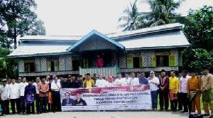 Agar Eksis, Peserta Safari Jurnalistik HPN Riau Usul Desa Cagar Budaya Koto Sentajo Dibuat Perda