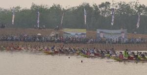 Dragon Boat, Kalteng Rebut 2 Emas, Riau 1 Emas