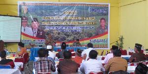 RAPP Paparkan Program CD dan Karhutla di acara Sosialisasi Dishut Kuansing.