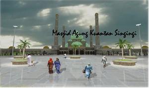 2014, Dianggarkan Dana 20 M Untuk Penuntasan Mesjid Agung Kuansing
