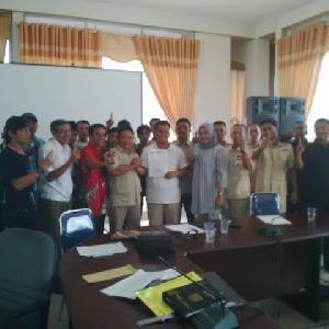 Gardu Prabowo dan Tim Pemenangan Desa  Sungai Bawang Siap Menangkan IKO