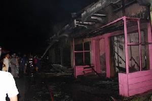 Kerugian Akibat Kebakaran di Benai Ditaksir Rp.850 Juta