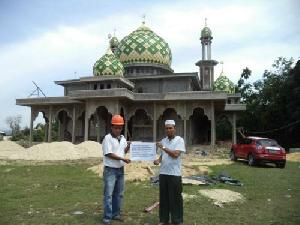 RAPP Serahterimakan Masjid Jami' Desa Sei Paku