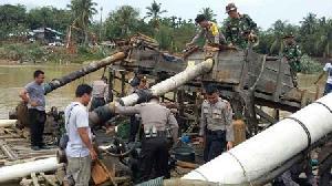 Tak Kenal Puasa, PETI Mengganas di sungai Kuantan, Nelayan Menjerit Kehilangan Mata Pencaharian