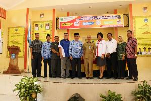 Diskominfo PDE Riau Sosialisasikan Internet Sehat Dikalangan Pelajar di Kuansing