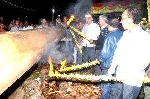 Bupati Layur Jalur Siposan Rimbo, Sang Jawara  2014