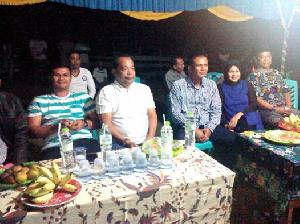Reses Anggota DPRD Kuansing Jons Ade Nopendra Disambut Meriah Warga Koto Sentajo